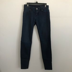 BLANK NYC two toned blue skinny jeans size 24